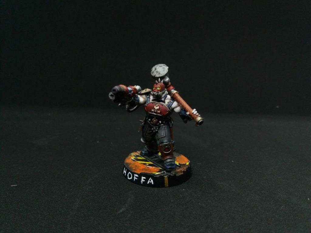 Hoffa the Necromunda Goliath Gang leader