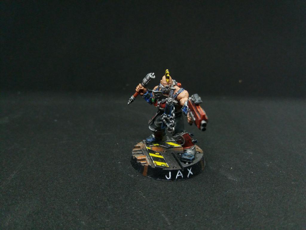Jax the Necromunda Goliath Gang ganger
