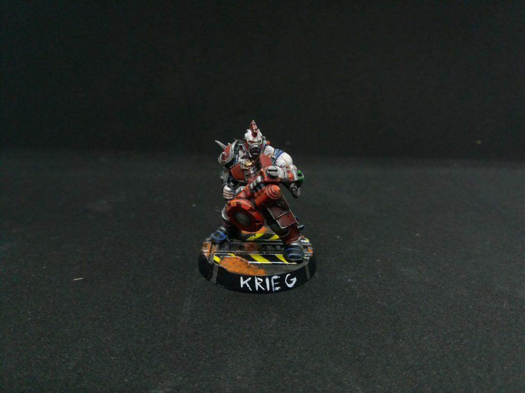 Krieg the Necromunda Goliath Gang champion