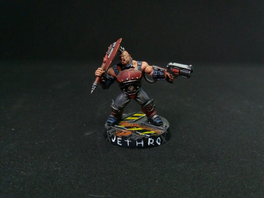 Jethro the Necromunda Goliath Gang juvie