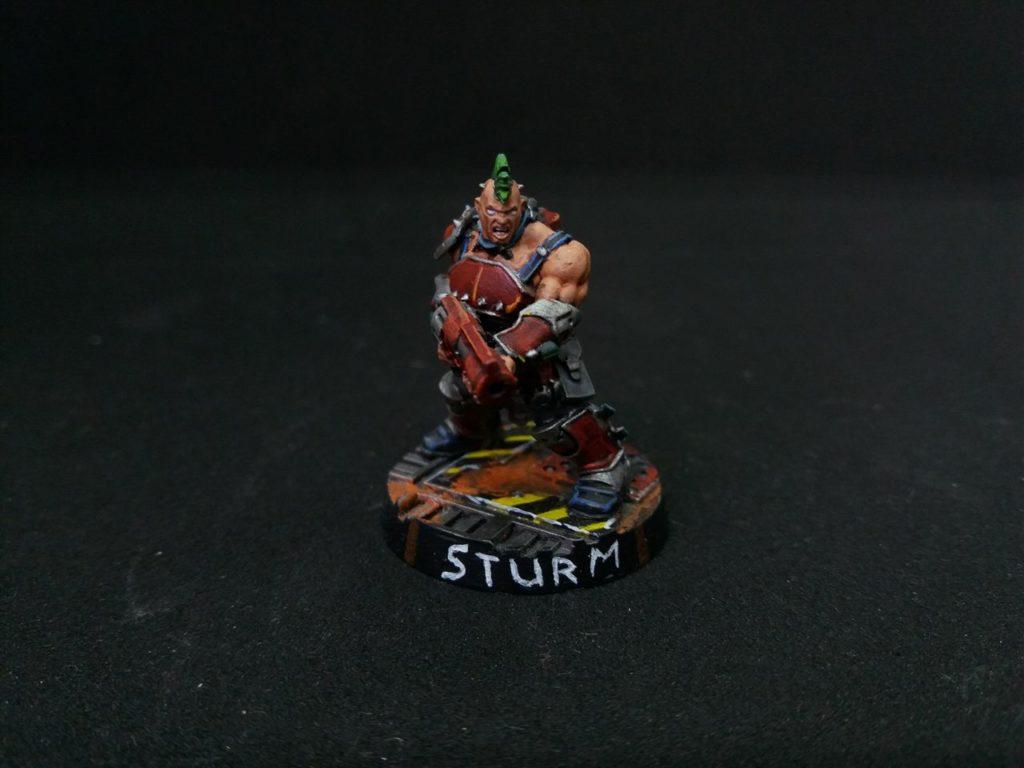 Sturm, A Ganger
