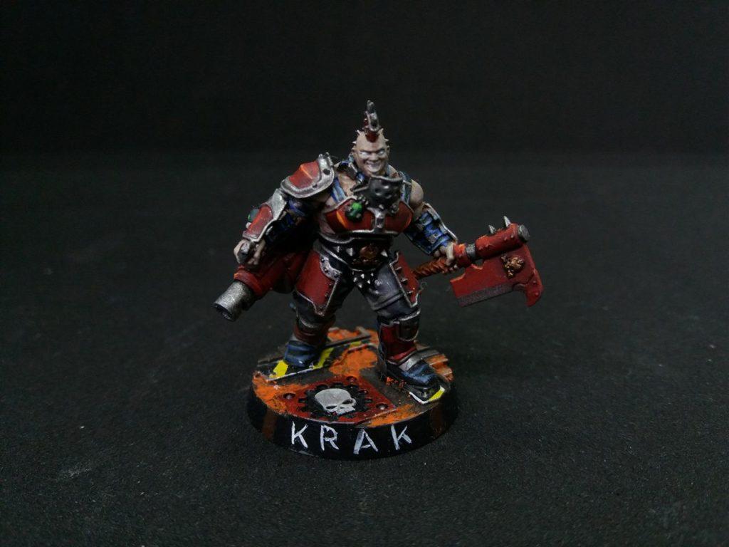Krak the Necromunda Golitah Gang ganger