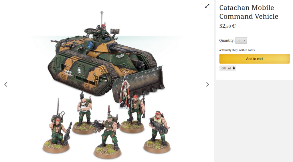Leverage the power of the Mobile Command Vehicle Stratagem found in Codex: Astra Militarum with this bundle.