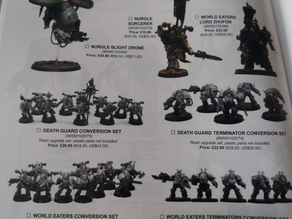 Forge World Catalogue 2018 - Death Guard