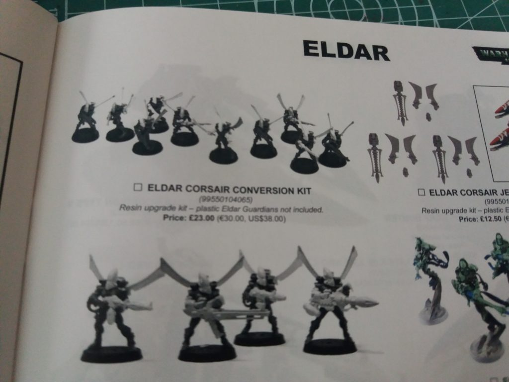 Forge World Catalogue 2018 - Corsairs