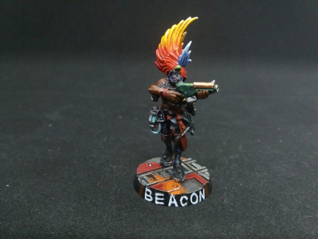 Beacon, an Escher Necromunda Ganger
