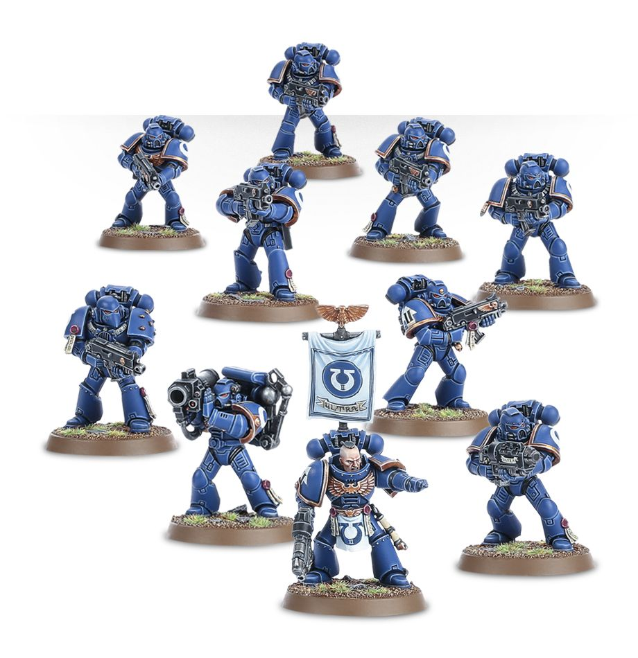 Guardsmen - Obscure Space Marines