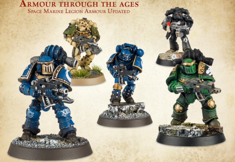 Space Marine armor.