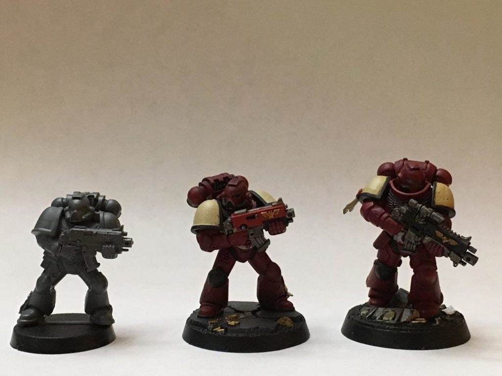 Space Marines smoll