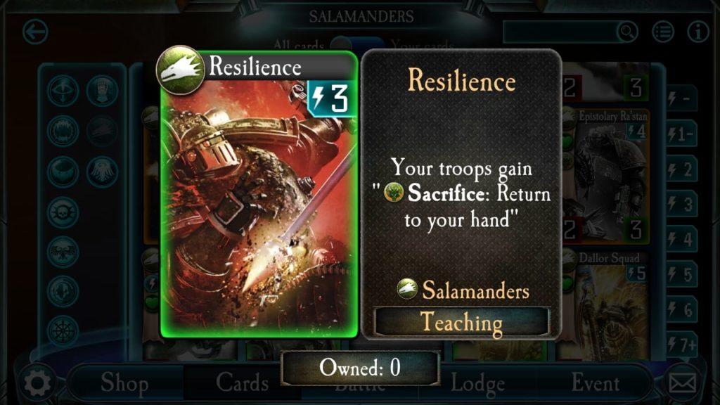 Salamander vs Eldar
