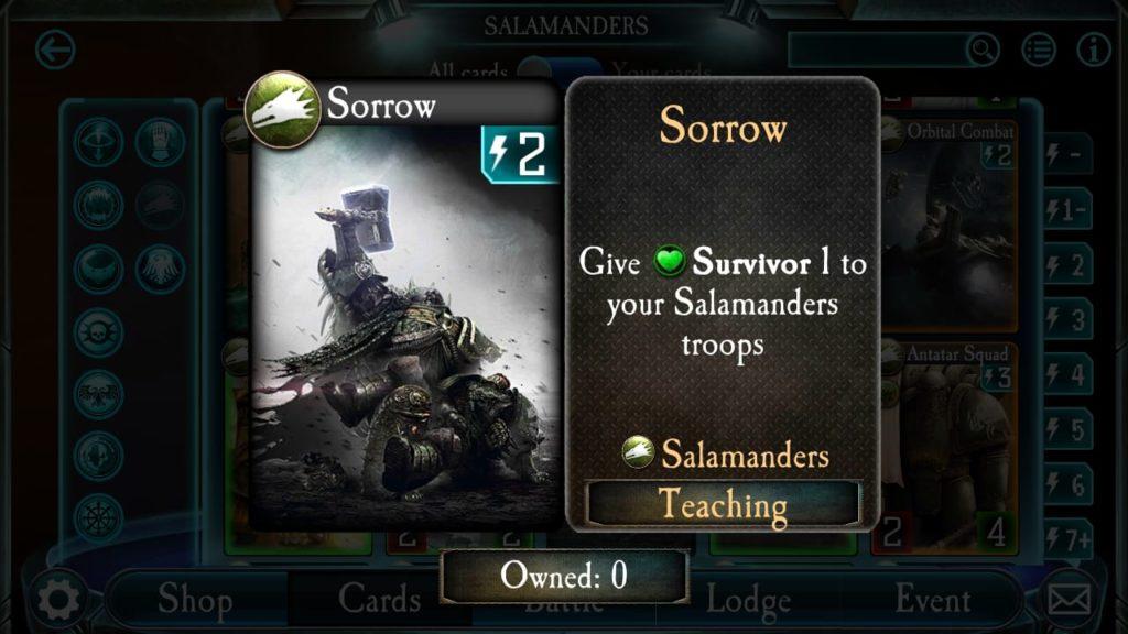 Salamander Survivoring