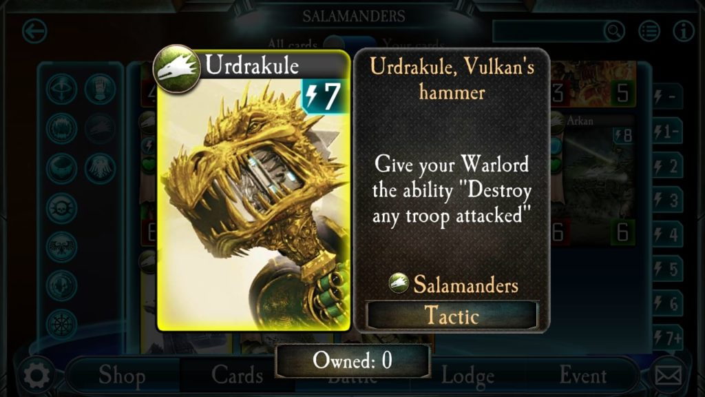 Salamander Hammer