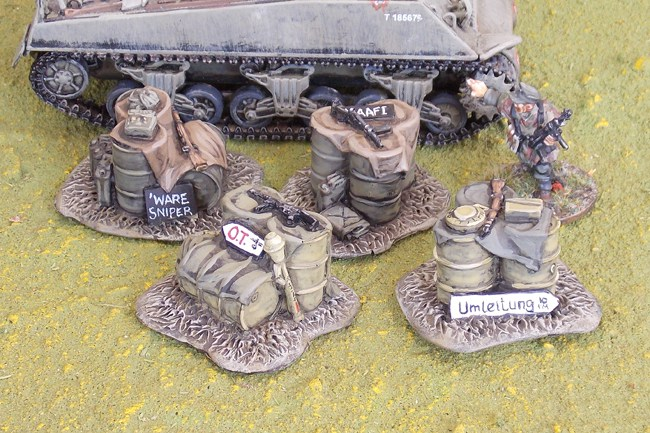 Chain of Command Jump Off point