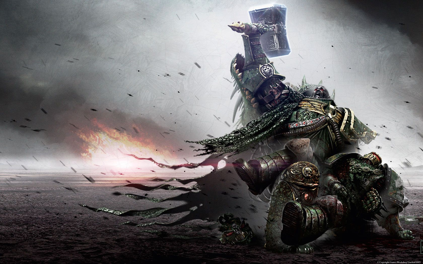 Vulkan cries over death of MK II armor