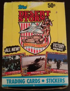 Operation Desert Storm Trading Cards Were A Thing
