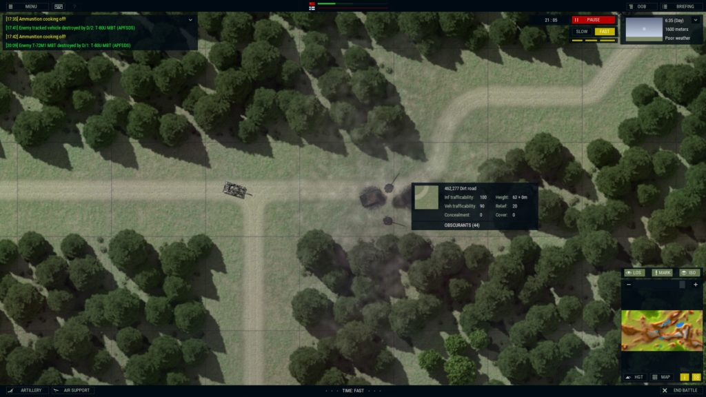 Armored Brigade what kind of Cold War game doesn't feature WARPAC tanks popping turrets off.