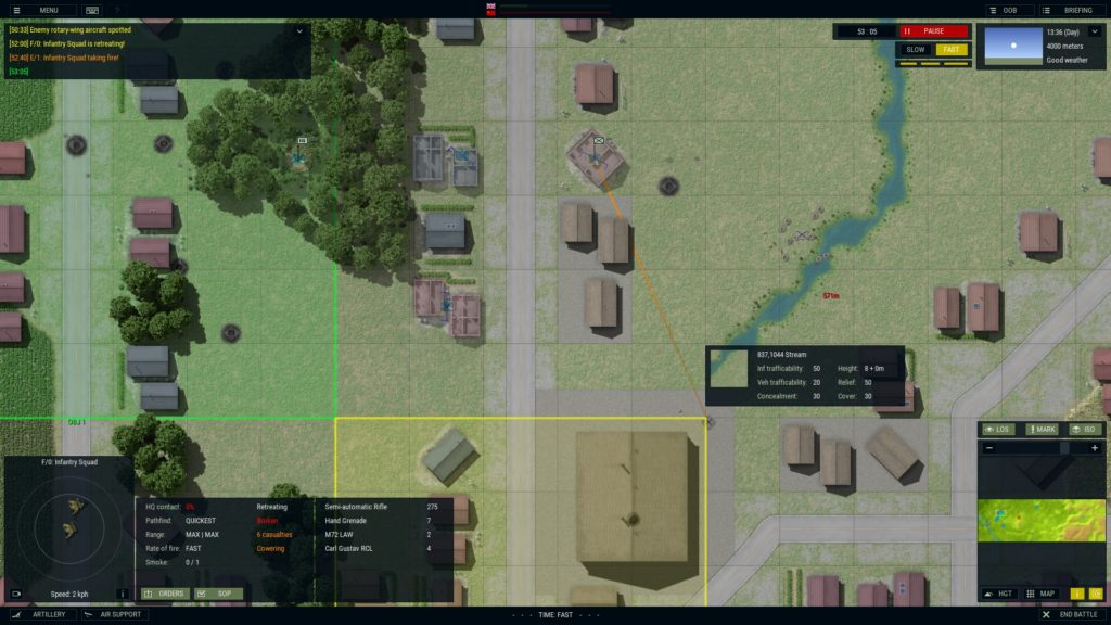 Armored Brigade check out that Close Combat approach to buildings!