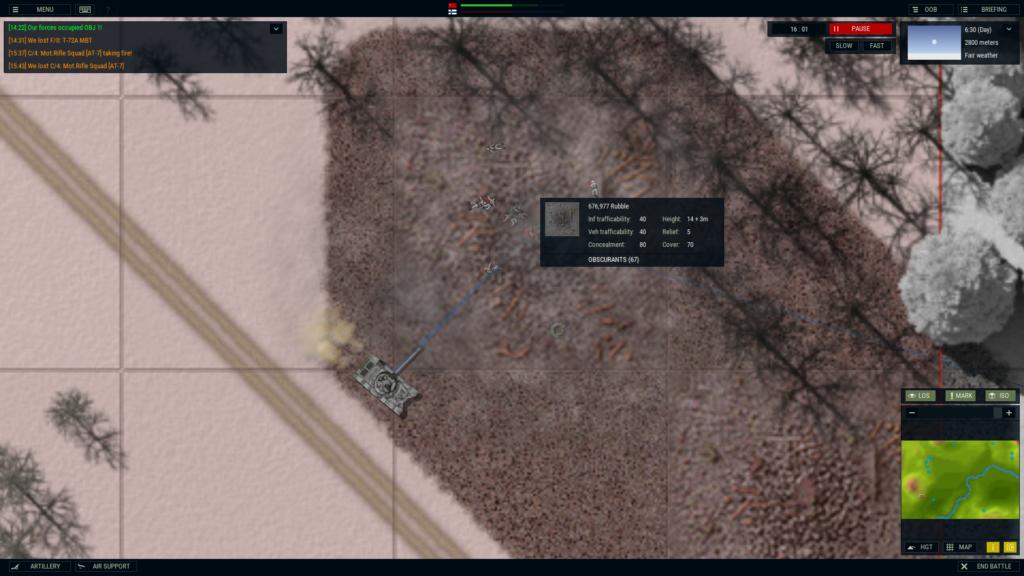 Amored Brigade T-72 vs. Finland