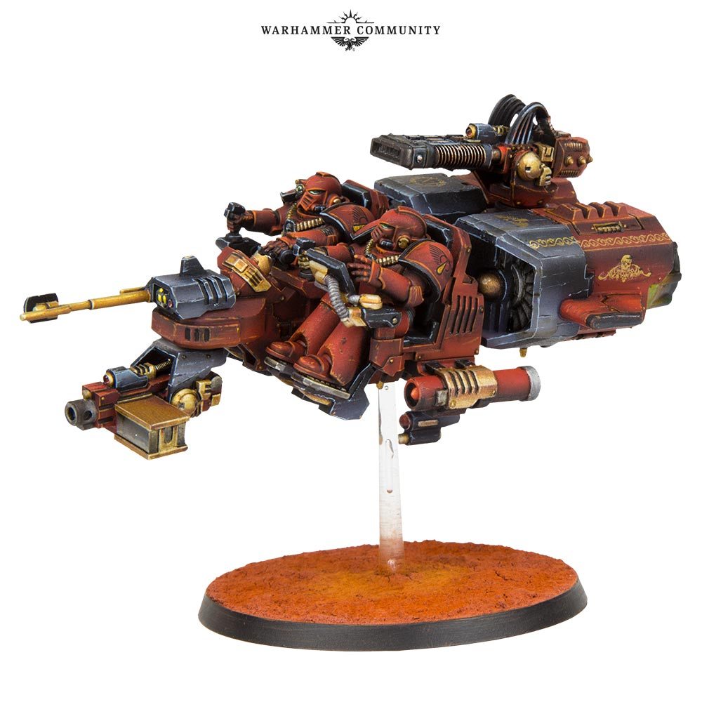 Forge World Review 2018 Land Speeder