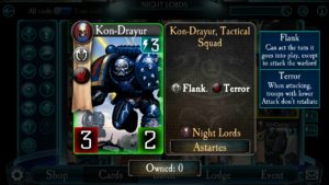 Night Lords Are The Terror Legion In Horus Heresy: Legions