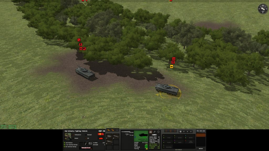 Combat Mission: Black Sea review: BMP-3s get immobilized in dirt