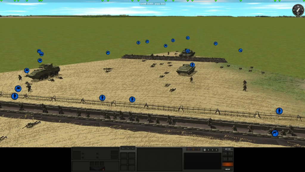Combat Mission: Black Sea - trench warfare is a lot less viable when airburst precision artillery exist