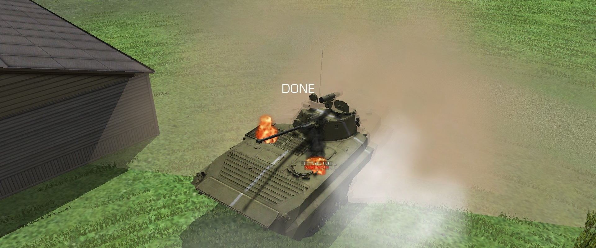 Combat Mission: Black Sea: I blew up a BMP-2!