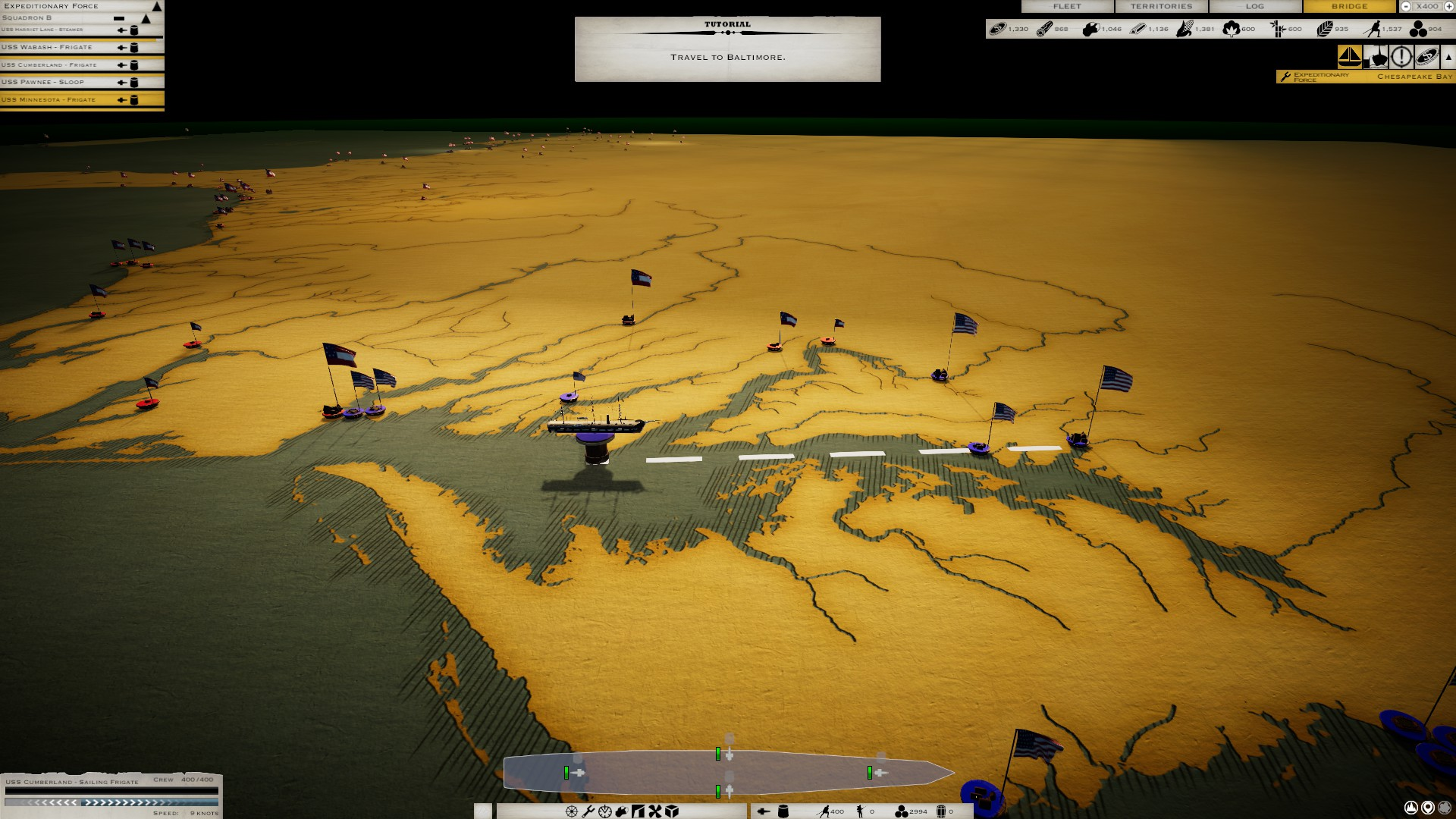 Victory at Sea Ironclads demo review