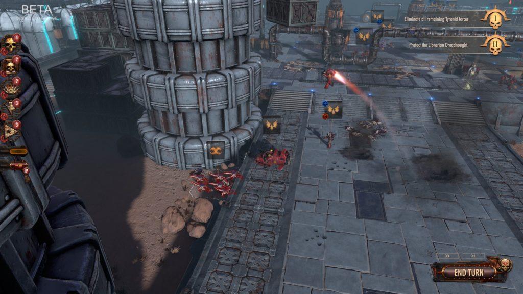 Warhammer 40000 Battlesector preview