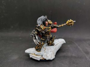 I painted Horus the Warmaster